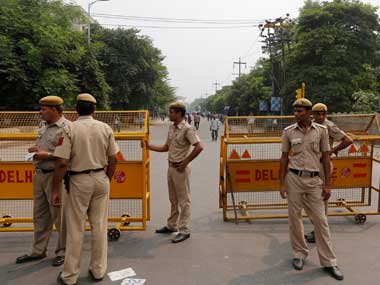 Representational image of Delhi Police. Reuters