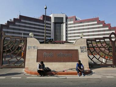 A file image of Delhi Secretariat. Reuters