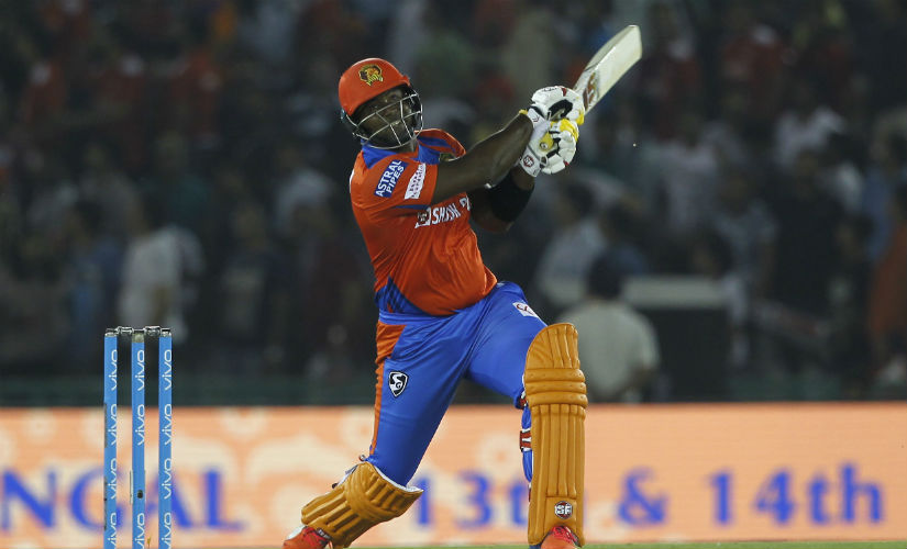 Dwayne Smith struck a brilliant 74 to guide Gujarat Lions. Sportzpics