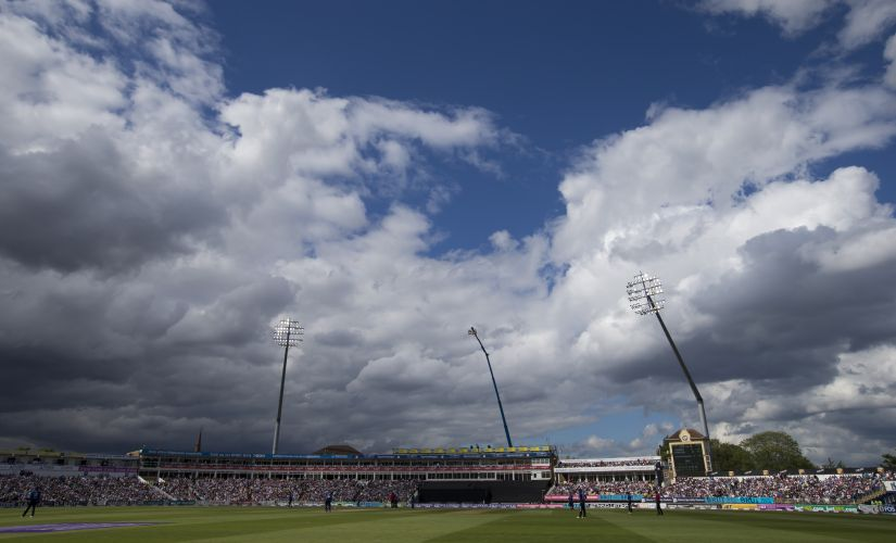 The Edgbaston Cricket Ground. AFP