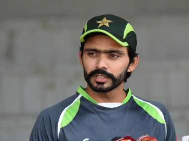 Pakistani cricketer Fawad Alam during a training camp in April 2015. AFP
