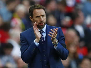 File photo of England manager Gareth Southgate. Reuters