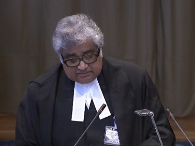File image of Harish Salve. Image courtesy: ICJ website