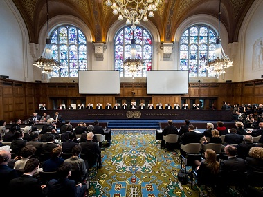The International Court of Justice. Image courtesy: UN website