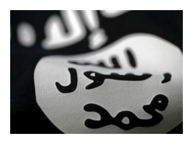 Image of an Islamic State flag. Reuters.