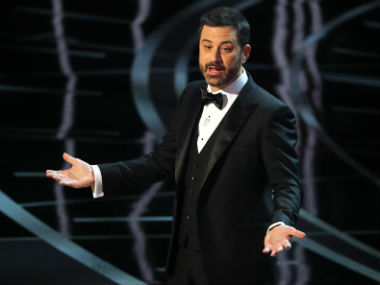 Jimmy Kimmel during the 89th Academy Awards function. Reuters