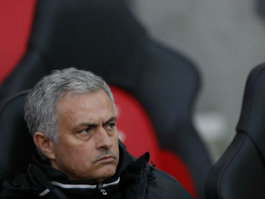 Jose Mourinho accuses the Premier League of deliberately hampering Manchester United's European chances. AFP