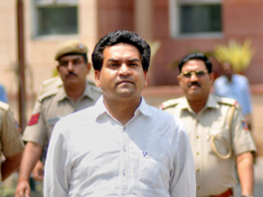 File image of Kapil Mishra. PTI