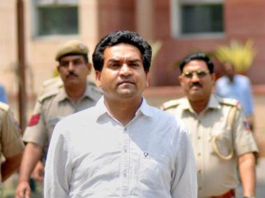 File image of Kapil Mishra. PTI