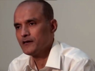 Retired naval officer Kulbhushan Jadhav.