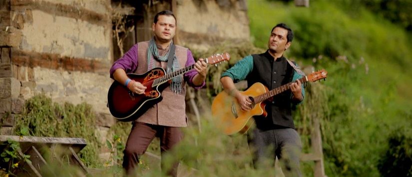 Still from Laman's 'Kaali Ghagri'. YouTube screengrab