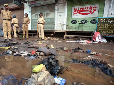 Six persons were killed and nearly 100 injured when a blast rocked Malegaon in Maharashtra in September 2008. Reuters
