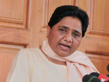 File image of BSP leader Mayawati. PTI