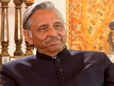 Senior Congress leader Mani Shankar Aiyar. Image courtesy News18