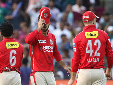 Kings XI Punjab captain Glenn Maxwell reacts after humiliating defeat against RPS in must-win match. Sportzpics