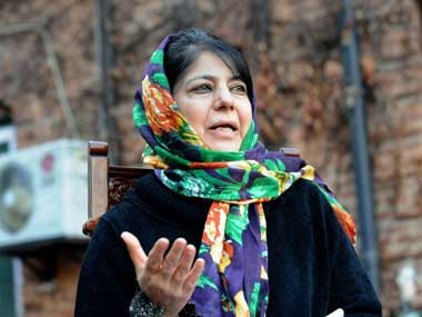 File image of Jammu & Kashmir chief minister Mehbooba Mufti. AFP