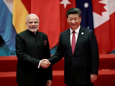 Chinese president Xi Jinping and Prime Minister Narendra Modi. Reuters