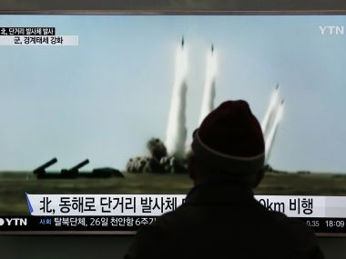 North Korea. Representational image. AFP