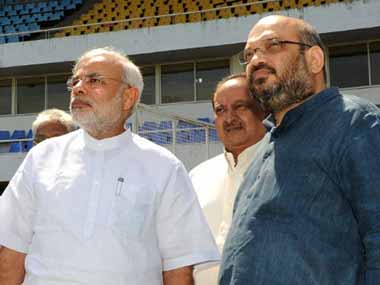 Narendra Modi and Amit Shah. AFP