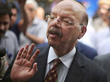 File image of Chief Election Commissioner Nasim Zaidi. AP