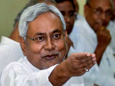 File image of Nitish Kumar. PTI