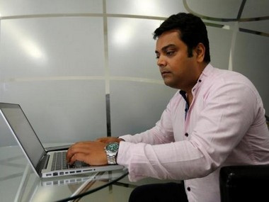 Vineet Pandey, Director of Kaarya Facilities and Services Pvt. Ltd. Reuters