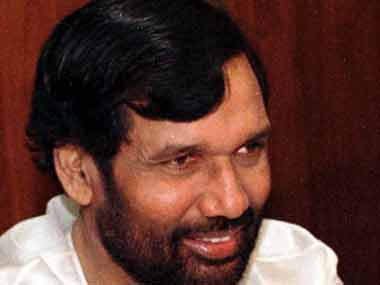 File image of Ram Vilas Paswan. Reuters