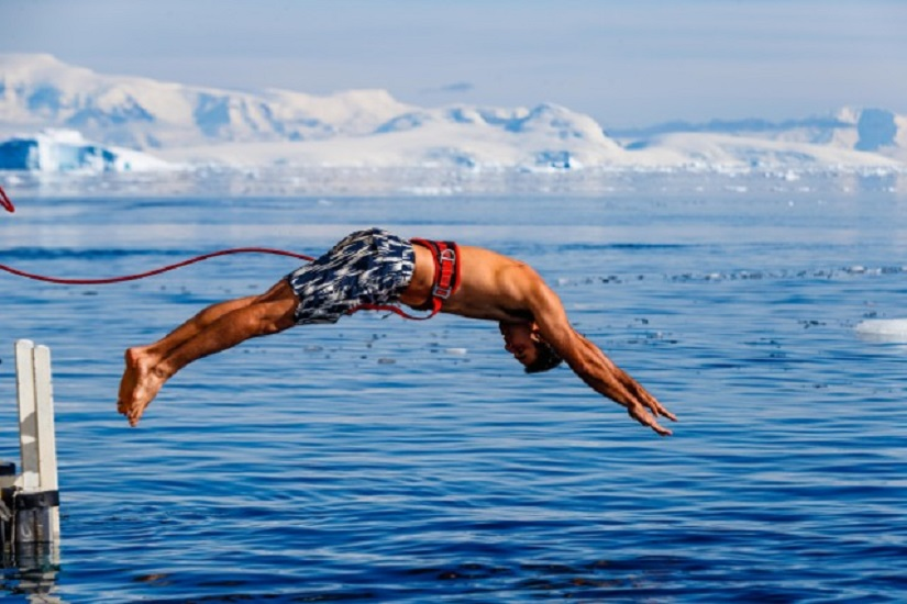 This is called the Polar Plunge!