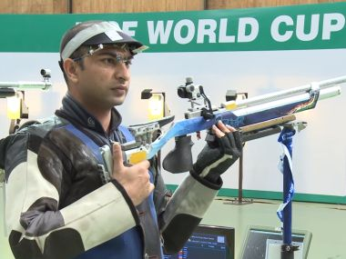 File image of 10 meter air rifle shooter Ravi Kumar