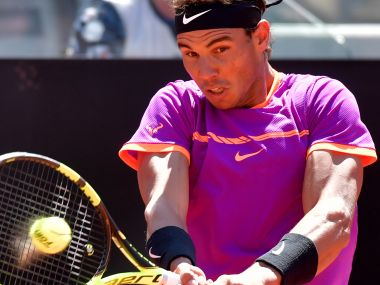 Rafael Nadal advances to third round of Italian Open. AFP