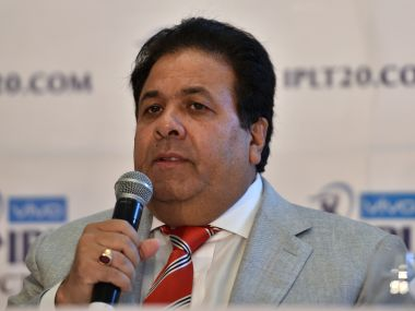 Indian Premier League chairman Rajeev Shukla. AFP