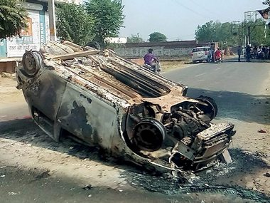 Communal clashes in Saharanpur have been raging for the past three weeks. PTI