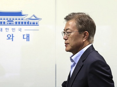 Tensions between North and South Korea are at all-time low. AP