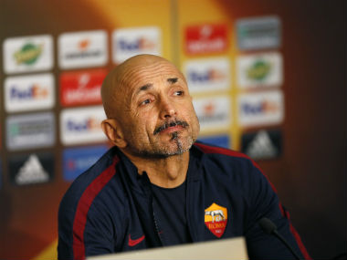Luciano Spalletti leaves Roma despite guiding them to the Champions League. Reuters