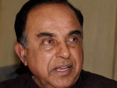 File image of Subramaniam Swamy. PTI