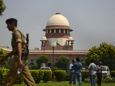 File image of Supreme Court of India. AFP