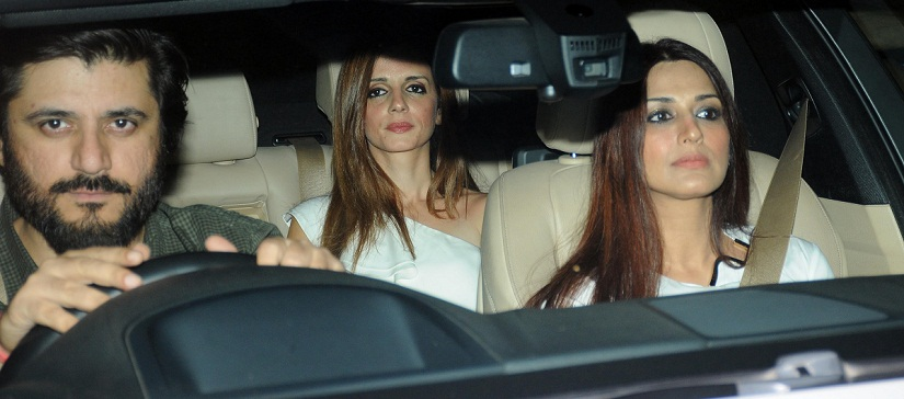 Sussane Khan with Sonali Bendre and Goldie Behl