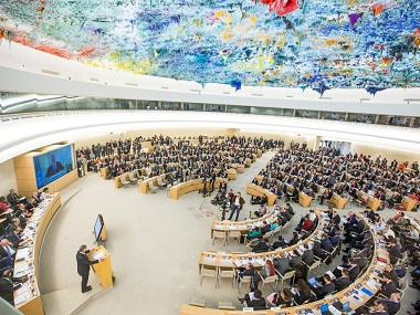 File image of the UNHRC. Image courtesy: UN website