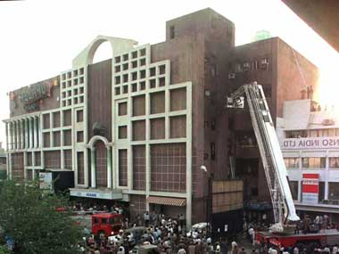 The Uphaar theatre in Delhi was gutted by a fire in 1997. Reuters
