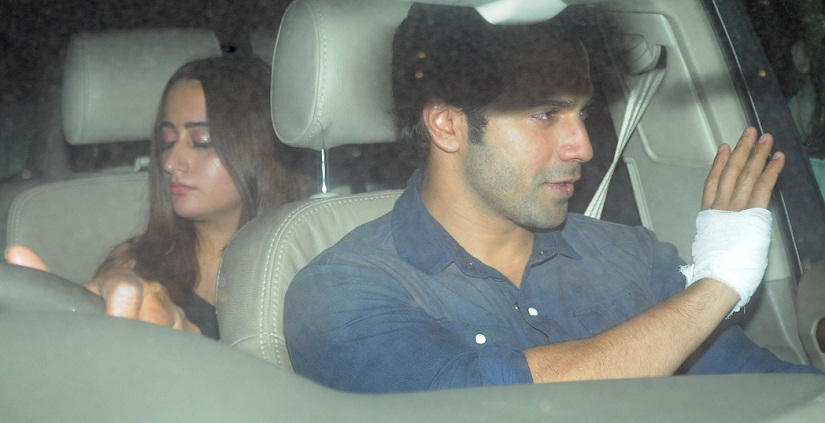 Varun Dhawan with Girlfriend Natasha Dalal (2)