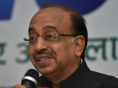 File photo of Sports minister Vijay Goel. AFP