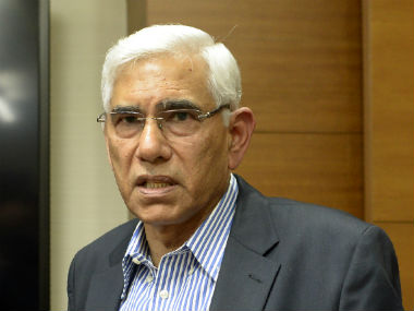File image of Vinod Rai. AFP