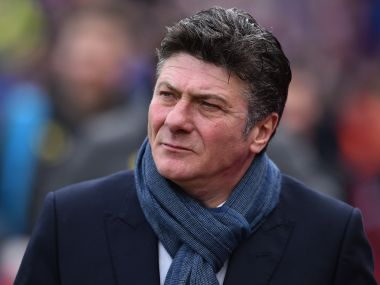 Watford manager Walter Mazzarri to leave the club at the end of the season. AFP