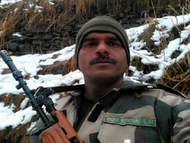 Tej Bahadur Yadav. Screenshot from YouTube video