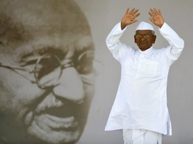 File image of Anna Hazare. Reuters