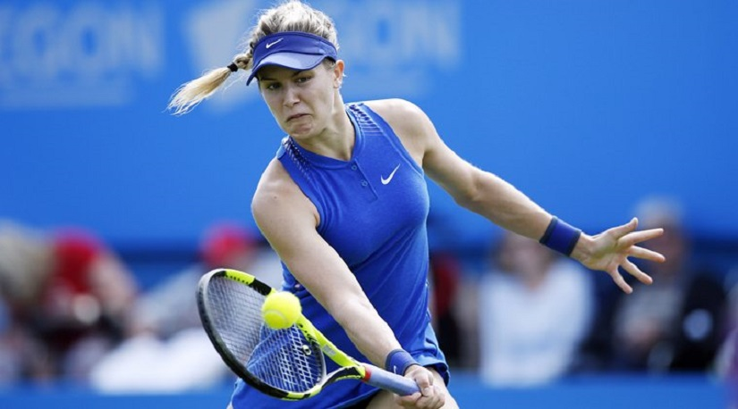 File image of Canada's Eugenie Bouchard. Reuters
