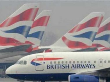 File image of a British Airways airplane. Cnn-News18