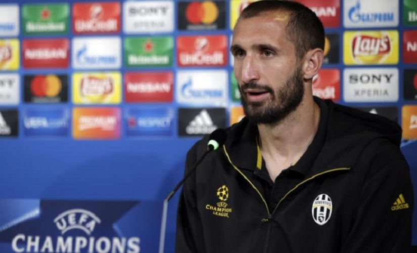 File image of Juventus' Giorgio Chiellini. Reuters