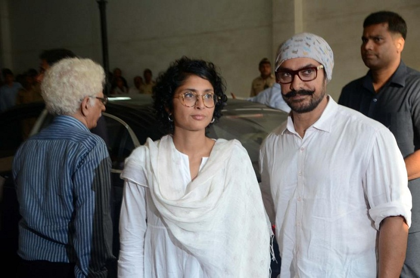 Aamir Khan and Kiran Rao. Image from IANS