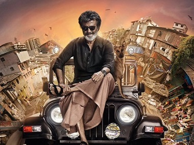 Poster of the film, Kaala. Picture courtesy: Twitter/ @superstarrajini